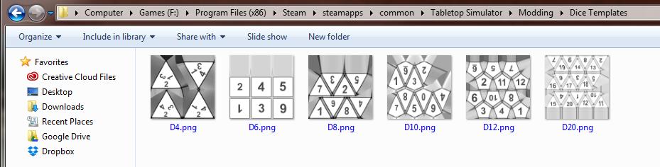 Custom Dice Tabletop Simulator Knowledge Base